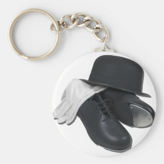 TapShoesBowlerGloves012511 Keychain