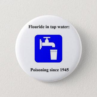 Tapwater 1945 2 inch round button
