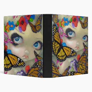 Tara butterfly fairy BINDER big eye fantasy art