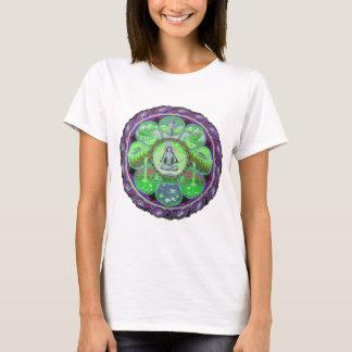 Tara Land Mandala ladies T-shirt
