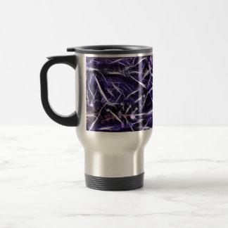 Tara Needle Purple 15 Oz Stainless Steel Travel Mug