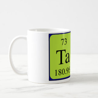 Tara periodic table name mug