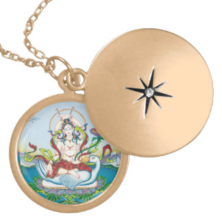 Tara Protecting against Poisons - round locket