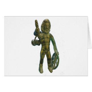 Taranis--Celtic god of thunder Card