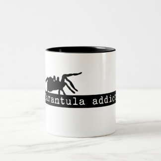 """Tarantula Addict"" Two Tone Mug"
