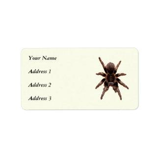 Tarantula Label
