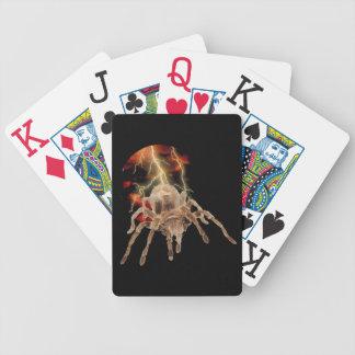 Tarantula Lightning Playing Cards