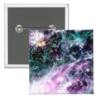 Tarantula Nebula 2 Inch Square Button