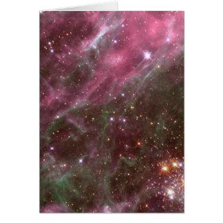 Tarantula Nebula Card