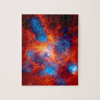 Tarantula Nebula Chandra X-Ray Puzzle