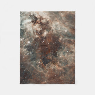 Tarantula Nebula Large Magellanic Cloud Fleece Blanket