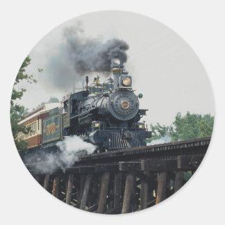 Tarantula Railroad, Fort Worth, Texas, U.S.A. Classic Round Sticker
