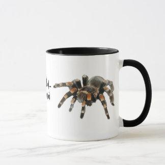 Tarantula, tarantul-mania, big spider mug