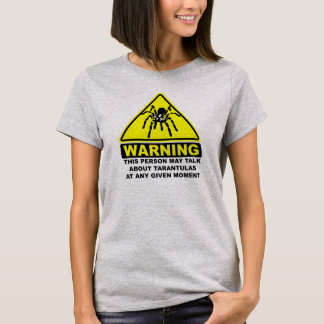 Tarantula Warning T-shirt (Light Steel)
