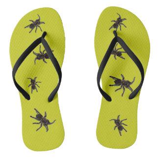 Tarantulas Flip Flops