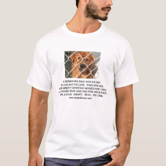 Tara's House Adopt T-Shirt
