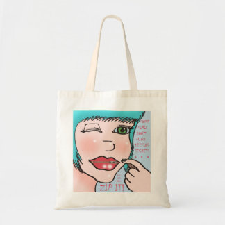 TaraZipperPic Tote Bag