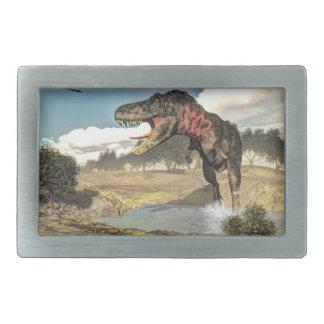 Tarbosaurus dinosaur - 3D render Belt Buckles
