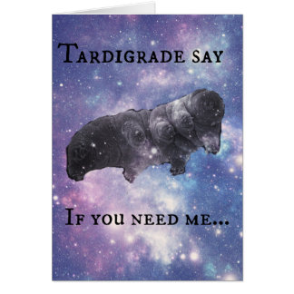 Tardigrade Say - Judging Card