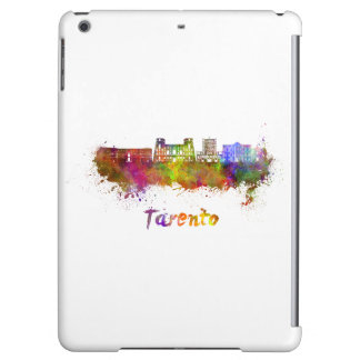 Tarento skyline in watercolor case for iPad air