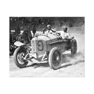 TARGA FLORIO 1922 - Classics Cars Canvas Print