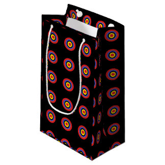 targe circle black gift bag