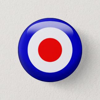 Target 1 Inch Round Button