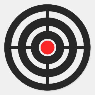 Target 2 round sticker