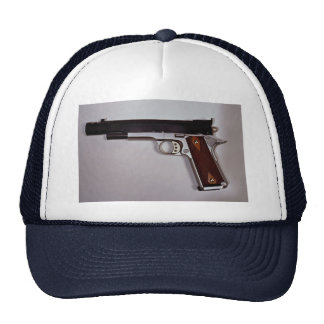 Target air pistol mesh hats