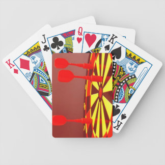 target bicycle playing cards