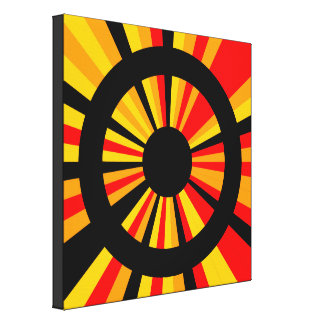 Target Canvas Print