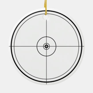 Target Ceramic Ornament
