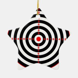 Target Ceramic Star Ornament