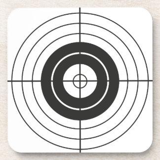 target circle design round mark coaster