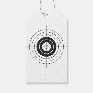 target circle design round mark gift tags