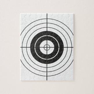 target circle design round mark jigsaw puzzle
