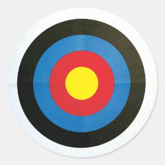 Target Classic Round Sticker