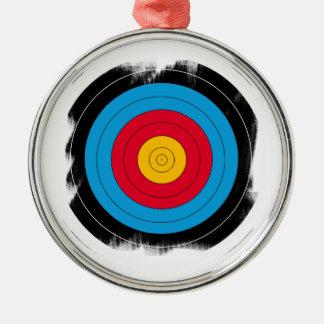 Target Face Metal Ornament
