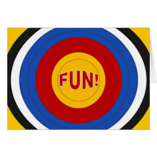 Target Fun at Summer Camp! Card