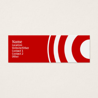 Target Mini Business Card