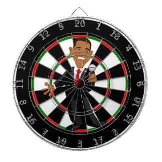 Target Obama Dartboard