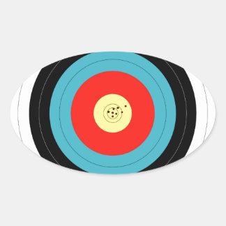 Target Oval Sticker