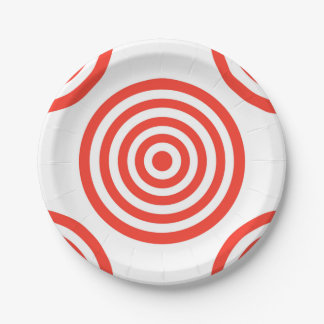 Target Paper Plate