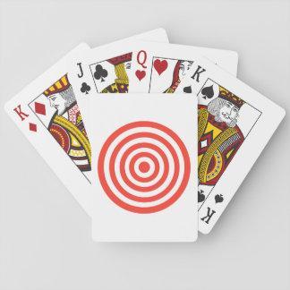 Target Playing Cards