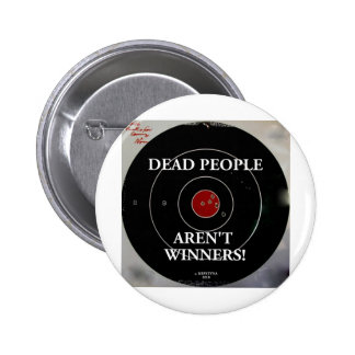 TARGET PRACTICE FUNNY PHRASES 1 PINBACK BUTTONS
