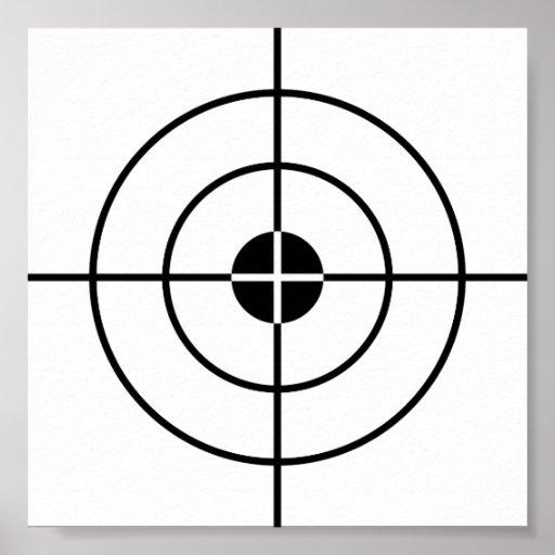 Target practice poster