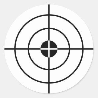 Target practice stickers