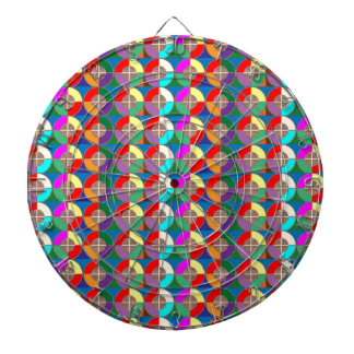 TARGET Practice Symbol Graphic Colorful ART Gifts Dartboard With Darts