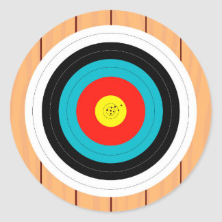 Target Round Sticker