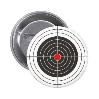 Target shooting for gun, rifle or firearm shooter 2 inch round button